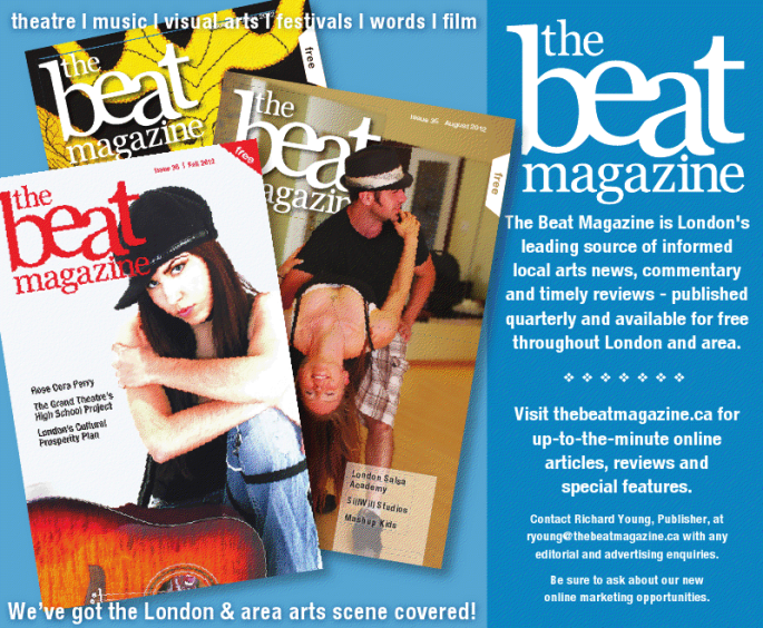 The Beat Magazine Promo Ad