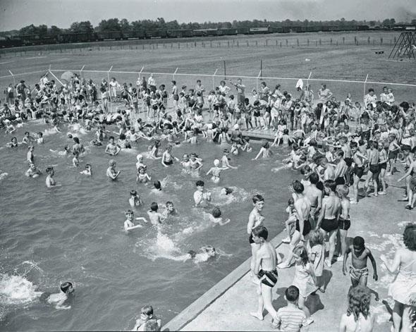 Silverwoods pool June 29 1949 590